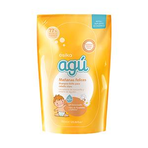 Repuesto Shampoo Agú Mañanas Felices Manzanilla y Algodón
