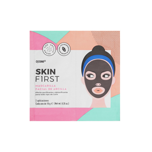 mascarilla de arcilla facial skin first