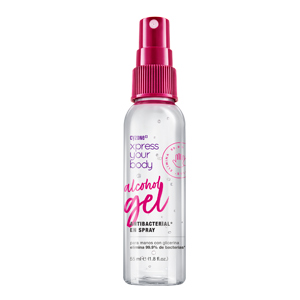 alcohol gel antibacterial en spray xpress your body.