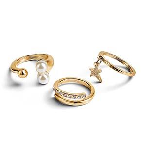 set de anillos perfect circle x3