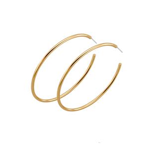 Argollas Golden Hoop