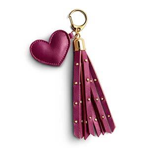 colgante de bolso lovely heart
