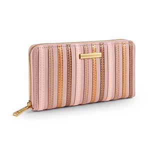 billetera de mujer lana
